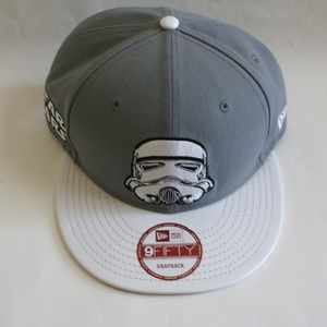 Star Wars logo NWT New Era snap back baseball cap